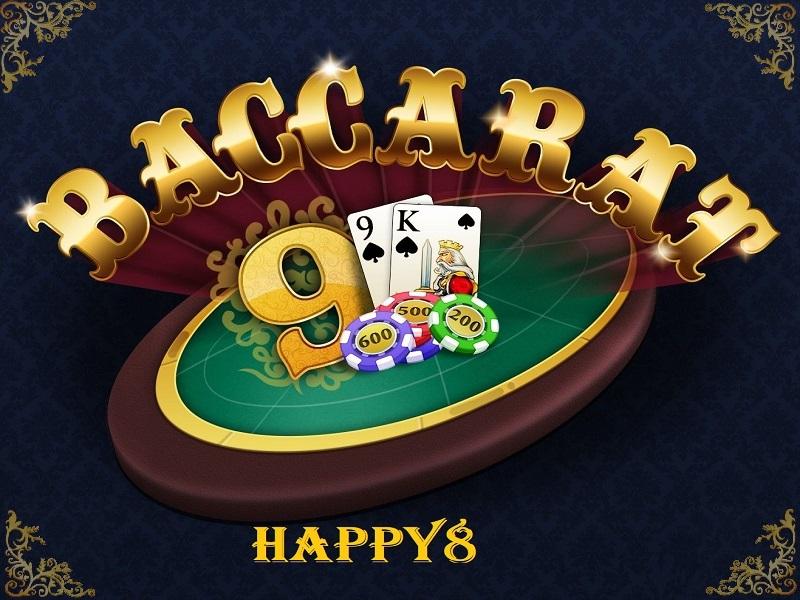Hướng dẫn cách chơi bài Baccarat tại Happy8