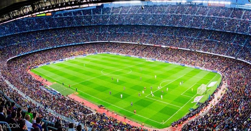 SVĐ Camp Nou có sức chứa khổng lồ nhất thế giới