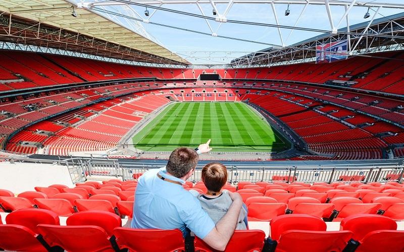 SVĐ Wembley có sức chứa khổng lồ nhất thế giới