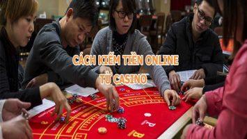 kiếm tiền từ caisno online