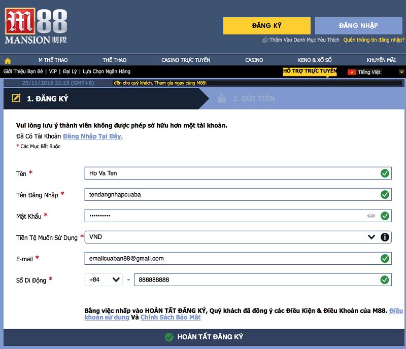 đăng nhập liên minh huyền thoại m88
